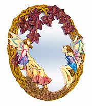 Nemesis Now Enchanted Forest Mirror (40cm)