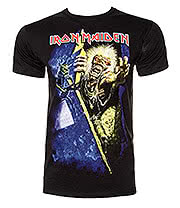 Iron Maiden No Prayer T Shirt (Black)