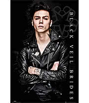 Black Veil Brides Andy Solo Poster