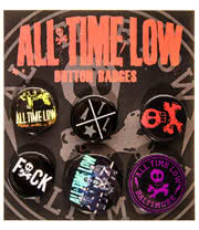All Time Low Baltimore Badge Set