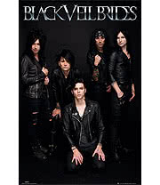 Black Veil Brides Band Poster
