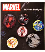 Marvel Extreme Badge Set