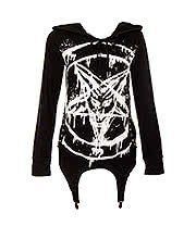 Poizen Industries Anarchist Hoodie (Black)