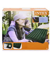 Intex Double Air Bed Easy Inflate (137 x 191 x 22)