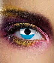 EDIT 90 Day Argentina Flag Contact Lenses (Blue)
