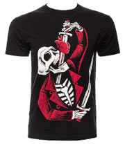 Akumu Sword Swallower T Shirt (Black)