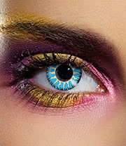 EDIT 90 Day Glamour Eyes Coloured Contact Lenses (Blue)
