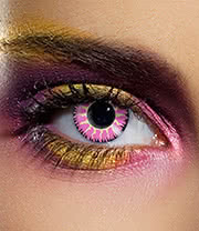 EDIT 90 Day Coloured Contact Lenses (Glamour Eyes Violet)