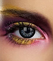 EDIT 1 Year Starry Eye Coloured Contact Lenses (Black)