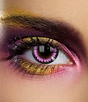 EDIT 1 Year Ultra Violet Coloured Contact Lenses (Violet)