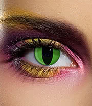 EDIT 90 Day Cobra Coloured Contact Lenses (Green)