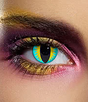 EDIT 90 Day Lizard Eye Coloured Contact Lenses (Green)