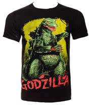 Godzilla Monster T Shirt (Black)