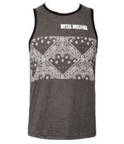 Metal Mulisha Signs Vest Top (Charcoal)