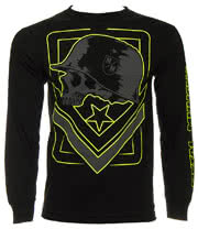 Metal Mulisha Tag Long Sleeve Top (Black)