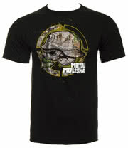 Metal Mulisha Foot Print T Shirt (Black)