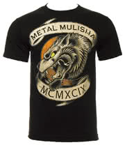 Metal Mulisha Crescent Moon T Shirt (Black)