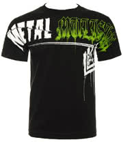 Metal Mulisha Hard Times T Shirt (Black)