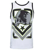 Metal Mulisha Tag Vest (White)