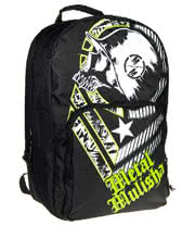 Metal Mulisha Caustic Backpack (Black/Green)