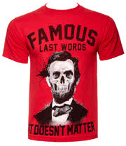 Famous Stars & Straps Last Words T Shirt (Red)