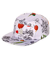 Hype Fruit Snapback Hat (White)