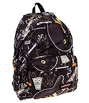 Eastpak Padded Pak'r @Night Backpack (Black)