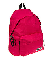 Eastpak Padded Pak'r Zebr'in Backpack (Pink)