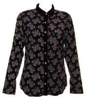 Cold Heart Boney Butterfly Shirt (Black)