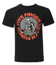 Five Finger Death Punch Seal of Ameth T Shirt (Black)