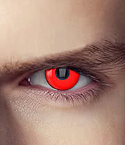 EDIT 90 Day Terminator Cyborg Assassin Coloured Contact Lenses (Red)