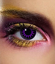 EDIT 90 Day Venus Coloured Contact Lenses (Purple/Black)