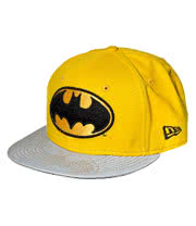 DC Comics Batman New Era Reflective Baseball Hat (Yellow)