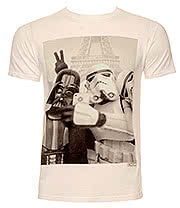 Chunk Clothing Star Wars Trooper Selfie T Shirt (White)