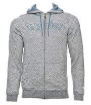 Etnies Corp Stitch Zip Up Hoodie (Grey)