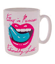 Falling In Reverse Lips Mug (White)