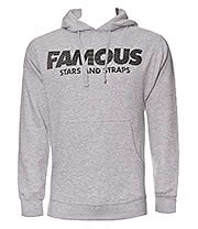 Famous Stars & Straps Repstylin Hoodie (Grey)