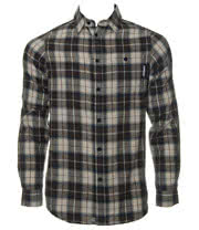 Famous Stars & Straps Midnight Woven Shirt (Grey)