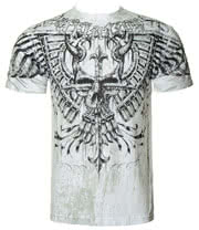 Affliction American Custom Lonsdale T Shirt (White)