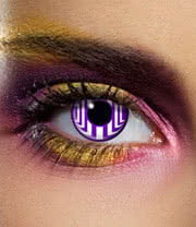 Edit 90 Day Cosmic Contact Lenses (Violet)