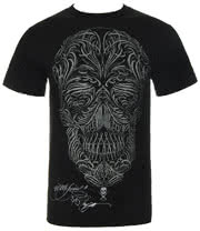 Sullen Filigree Badge T Shirt (Black)