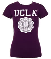 UCLA May Skinny T Shirt (Grape Purple)