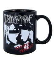 Bullet For My Valentine Temper Temper Kiss Mug (Black)