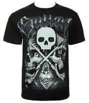 Sullen Players Club T Shirt (Black)