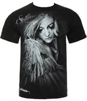 Sullen Heaven Sent T Shirt (Black)