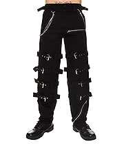 Dead Threads Buckles & Chain Trousers (Black)
