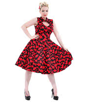 H&R Heart Dress (Black/Red)