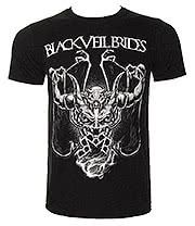 Black Veil Brides Demon Rises T Shirt (Black)
