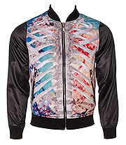 Banned Ribcage Reversible Jacket (Multi Coloured)