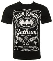 Batman Gotham Bottle T Shirt (Black)